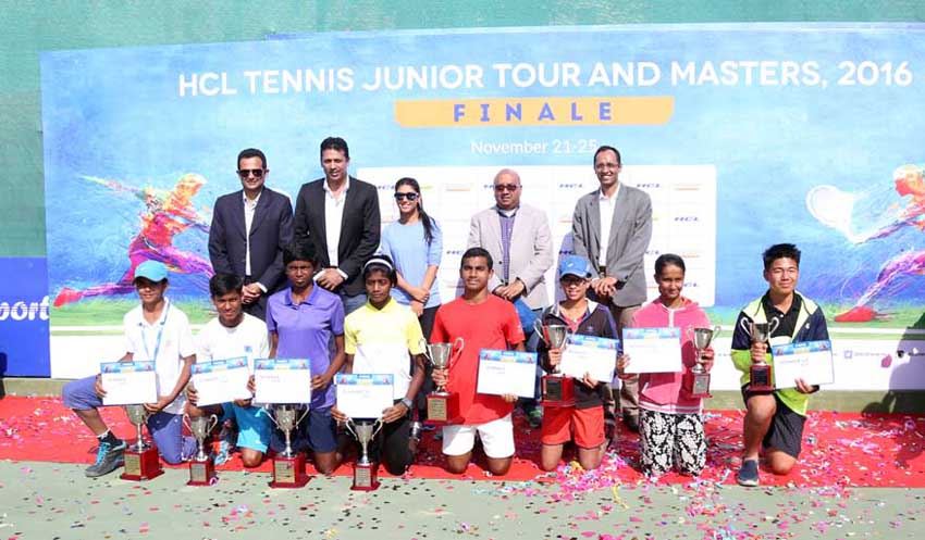 HCL concludes National Tennis Junior Tour & Masters